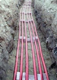 прокладка силовых кабелей. Ленинск-Кузнецкие электрики.