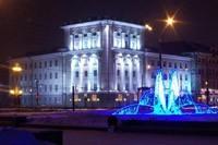 освещение фасадов в Ленинск-Кузнецком