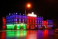 Наружное освещение: архитектурное освещение зданий, фасадов дома в Ленинск-Кузнецком