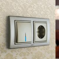 Установка выключателей в Ленинск-Кузнецком. Монтаж, ремонт, замена выключателей, розеток Ленинск-Кузнецкий.